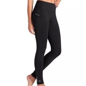 Athleta power lift leggings black